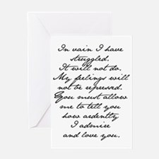 8 Jane Austen Prop... Greeting Card