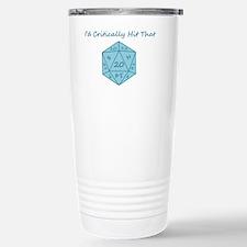 I'd Critically Hit That Travel Mug