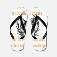 Affairs of Cats Flip Flops
