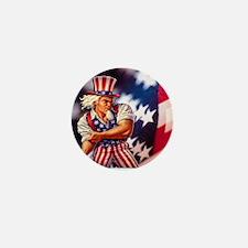 Time to take back America Mini Button