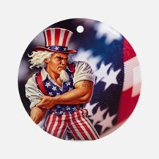 Time to take back America Round Ornament