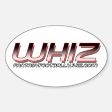 Whiz Oval Decal