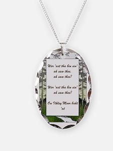 Ilkley Moor Poem Necklace