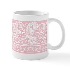 Light Pink Damask Small Small Mug