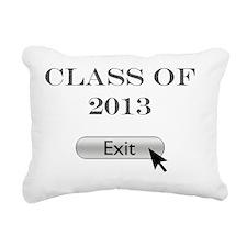 Class of 2013 Rectangular Canvas Pillow