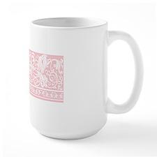 Light Pink Damask Mug