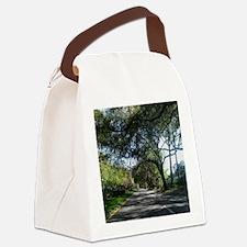 Savannah Georgia Canvas Lunch Bag