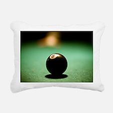 Lucky 8 Rectangular Canvas Pillow