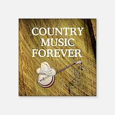 """countrymfor1 Square Sticker 3"""" x 3"""""""