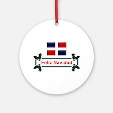 Dominican Feliz... Keepsake Ornament