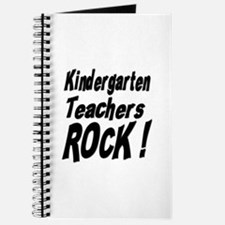 Kindergarten Teachers Rock ! Journal