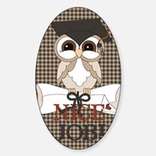 go_23x35_print Sticker (Oval)