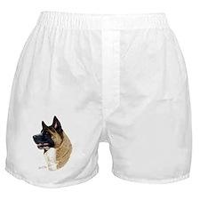 Akita Head Boxer Shorts