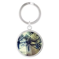 Signs of Hope Round Keychain