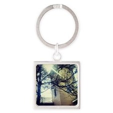 Signs of Hope Square Keychain