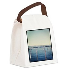 Dock of the Bay Canvas Lunch Bag