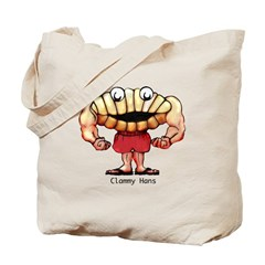 Clammy Hans Tote Bag