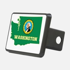 Washington State Flag and  Hitch Cover