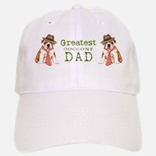 bulldog dad-mug Baseball Baseball Cap