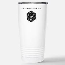 Id Critically Hit That  Travel Mug