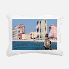 Pelican View Rectangular Canvas Pillow