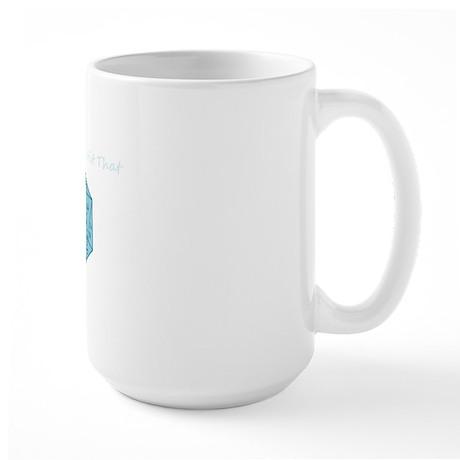 Id Critically Hit That - Blue Large Mug