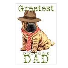 sharpei dad1 Postcards (Package of 8)