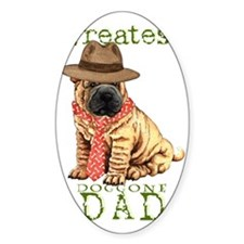 sharpei dad1 Decal
