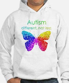 Autism Butterfly, different, not Hoodie