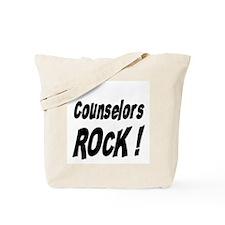Counselors Rock ! Tote Bag