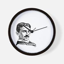 The Future is Teslas Wall Clock