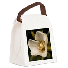 Strawberry flower Canvas Lunch Bag