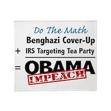 Benghazi Cover Up Impeach Obama Throw Blanket