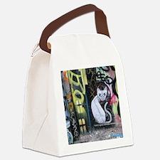 A Cat in Paris Canvas Lunch Bag