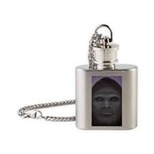 Bigfoot: The Encounter Flask Necklace