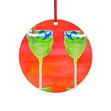 Meramid Margarita Round Ornament