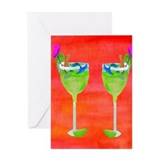 Meramid Margarita Greeting Card