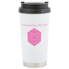 Id Critically Hit That  Travel Coffee Mug