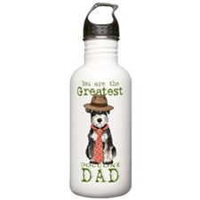 mini sch dad-card Water Bottle