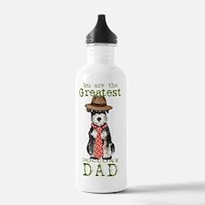 mini sch dad-card Water Bottle