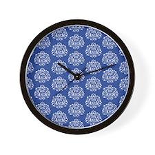 Elegant Damask Wall Clock