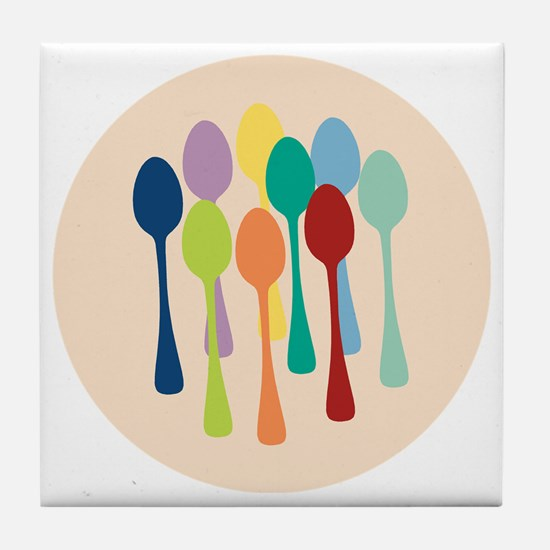 spoons-sp13 Tile Coaster