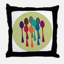 spoons-fl13 Throw Pillow