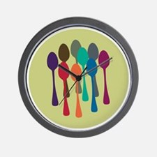 spoons-fl13 Wall Clock