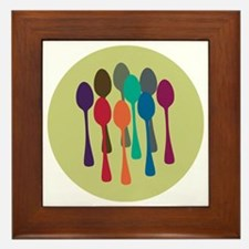 spoons-fl13 Framed Tile