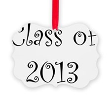 Class of 2013 Ornament