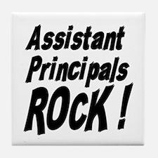Assistant Principals Rock ! Tile Coaster