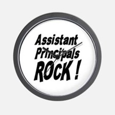 Assistant Principals Rock ! Wall Clock