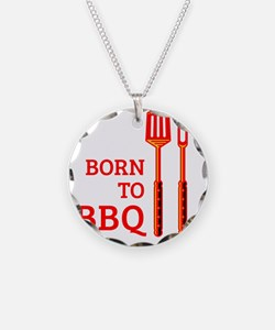 Born To BBQ Necklace