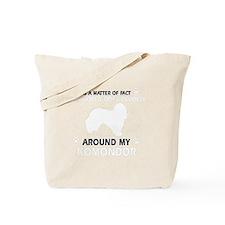 Komondor Dog Breed Designs Tote Bag
